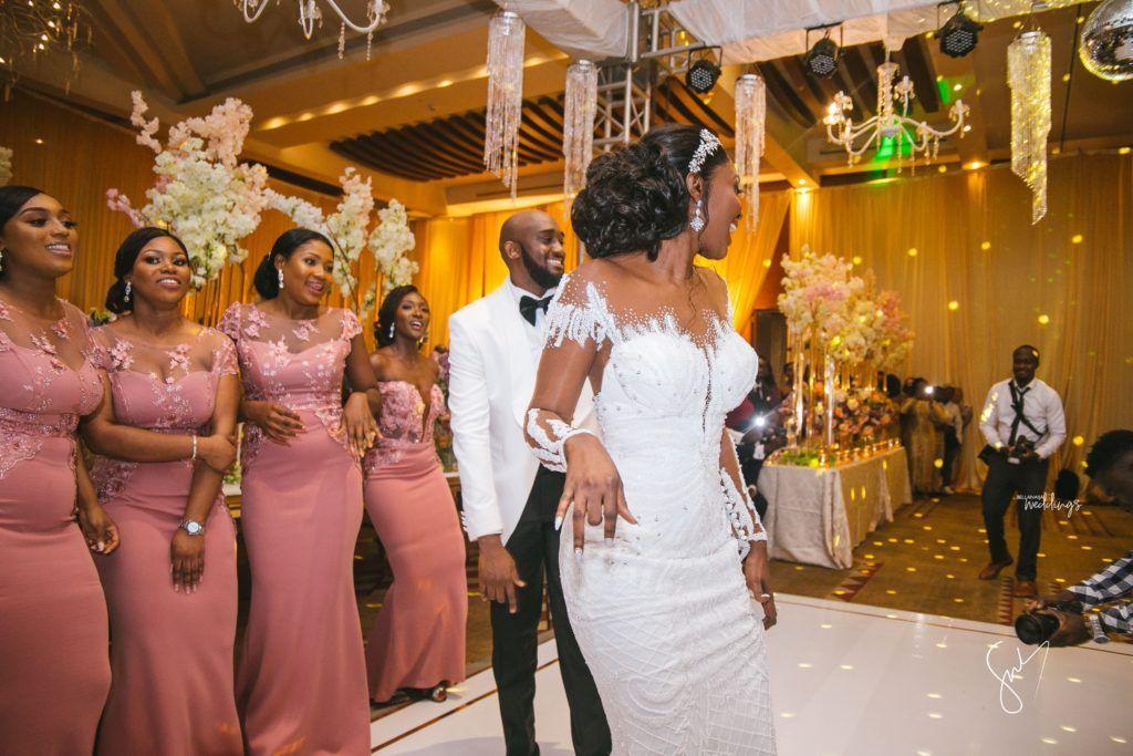 Amanda sydneys outdoor white wedding in ghana is goals
