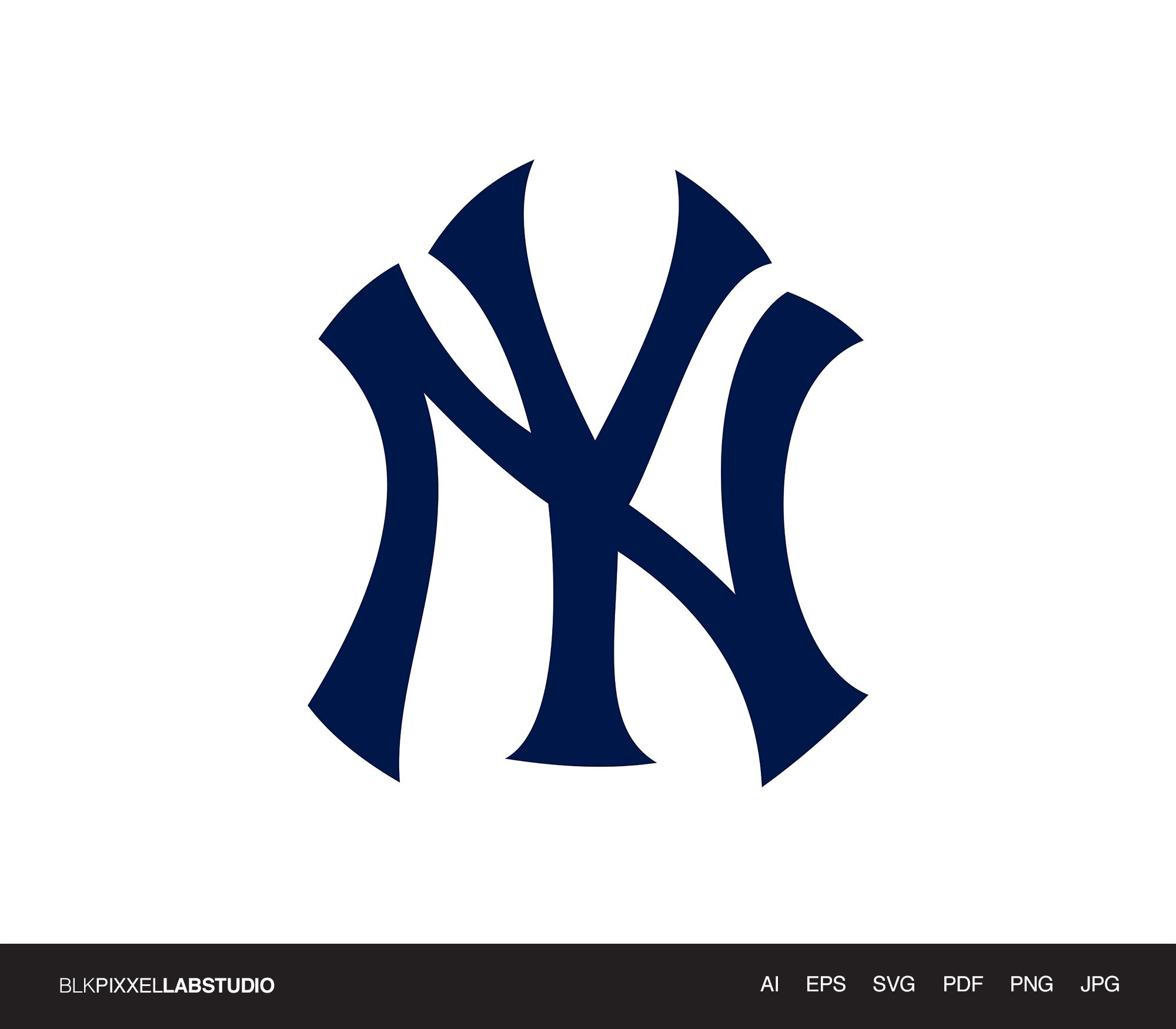 New York Yankees Svg Mlb Svg Husband Gift Gift For Him Etsy In 2021 Mlb Logos New York Yankees Logo Yankees Logo