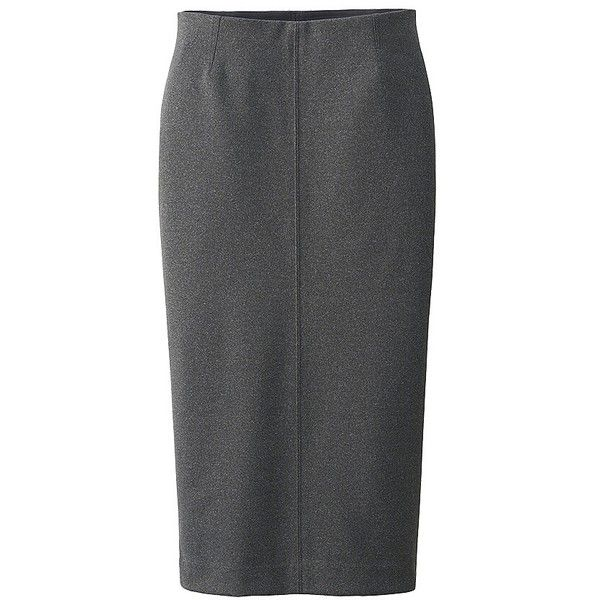 WOMEN PONTE PENCIL SKIRT ❤ liked on Polyvore featuring skirts, ponte pencil skirt, ponte skirt, knee length pencil skirt, pencil skirt and ponte-knit skirts
