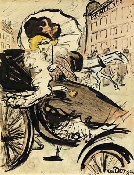 Kees van Dongen - La Reusside, 1901
