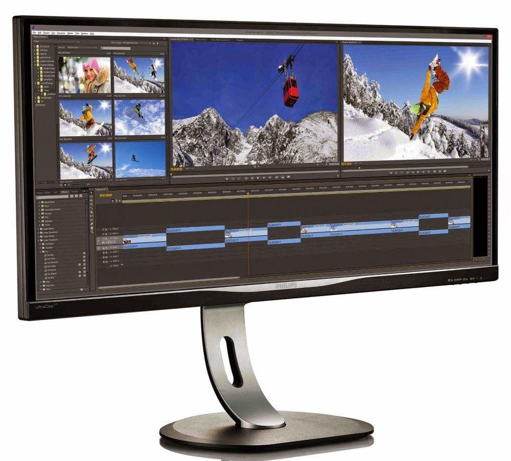 Sempre più grandi i monitor arriva il Quad High