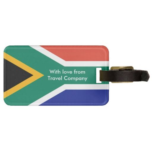 Flag Of South Africa Bokke Bag Tag Zazzle Com South Africa Flag