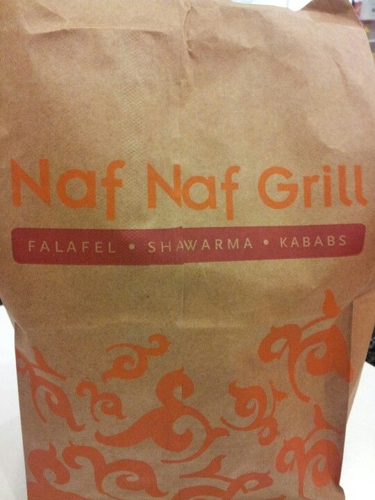 Naf Naf Grill. Unbelievably fresh pita!