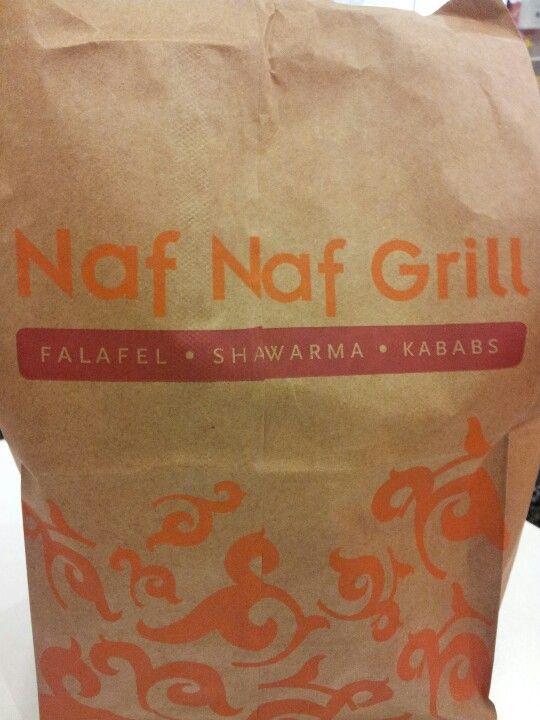 Naf Naf Grill. Unbelievably fresh pita!
