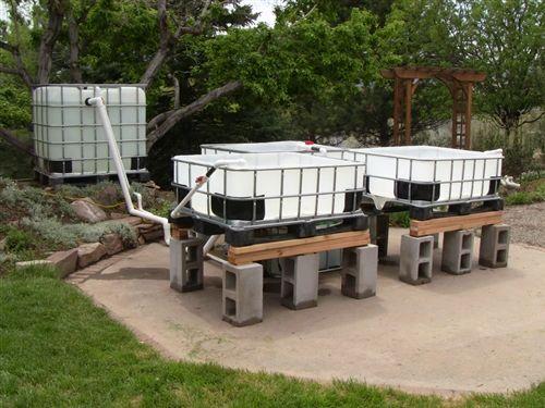 IBC Tote Aquaponics Plumbing Kit