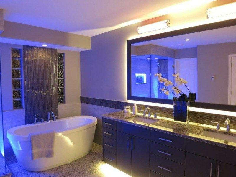 Tendenzen bei der Badbeleuchtung