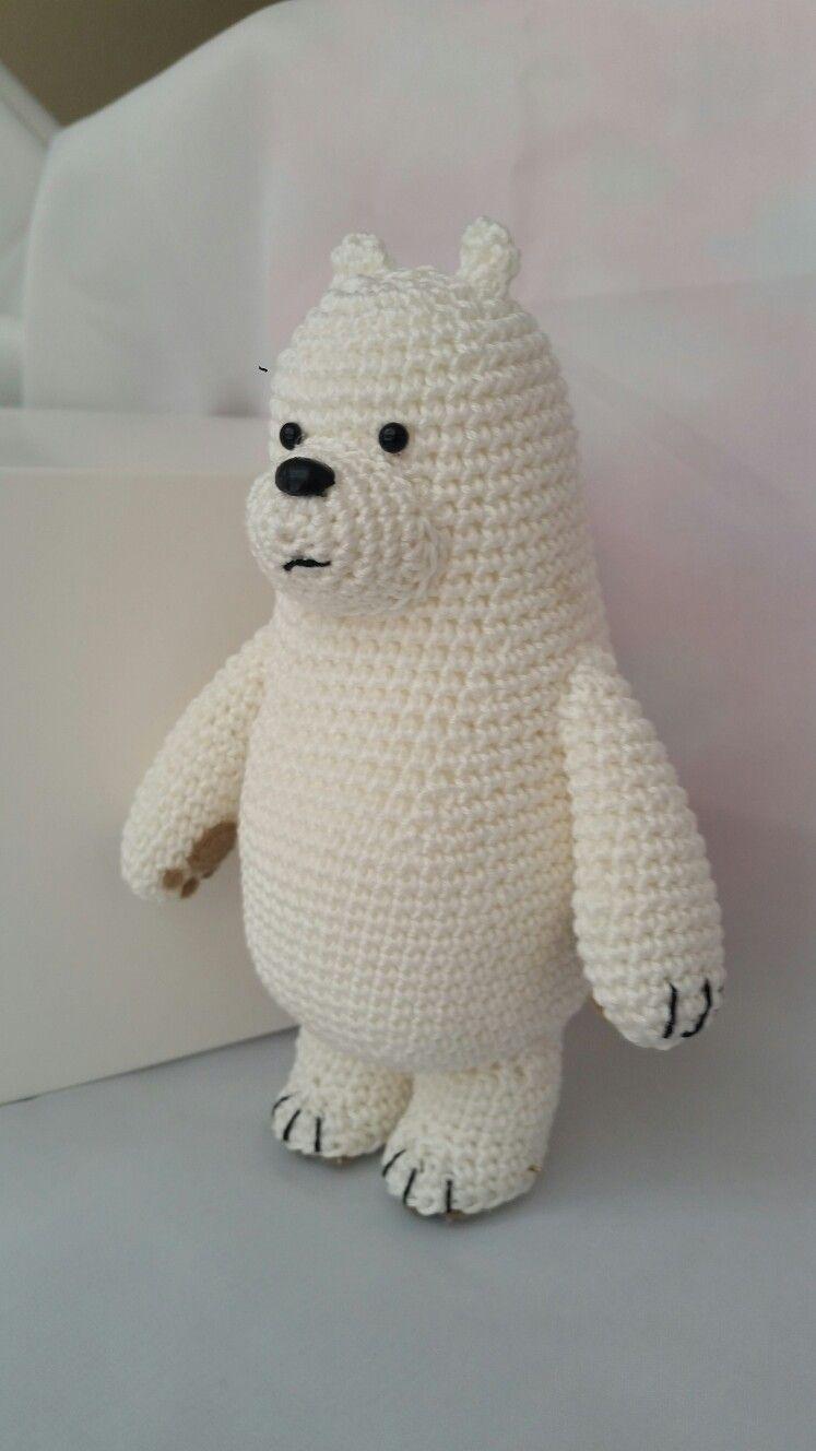 CROCHET Three Bears: ice Bear, Grizzly and Panda | 1328x747