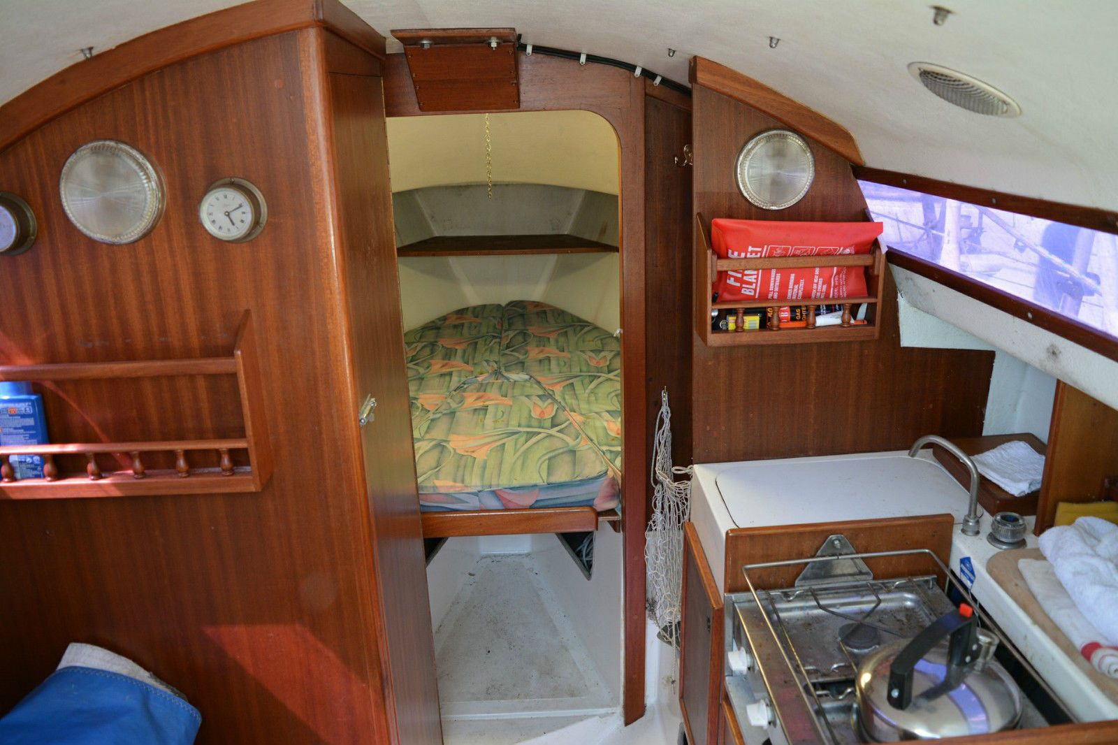 Details About 24' Sailing Yacht Hurley 24/70
