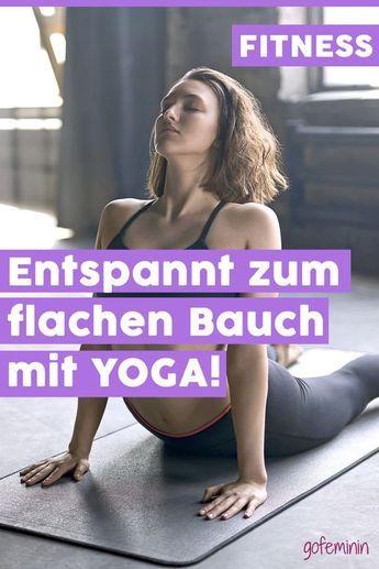 Ganz entspannt zum Sixpack: Die 4 besten Yoga-Übungen für einen flachen Bauch #yogaypilates