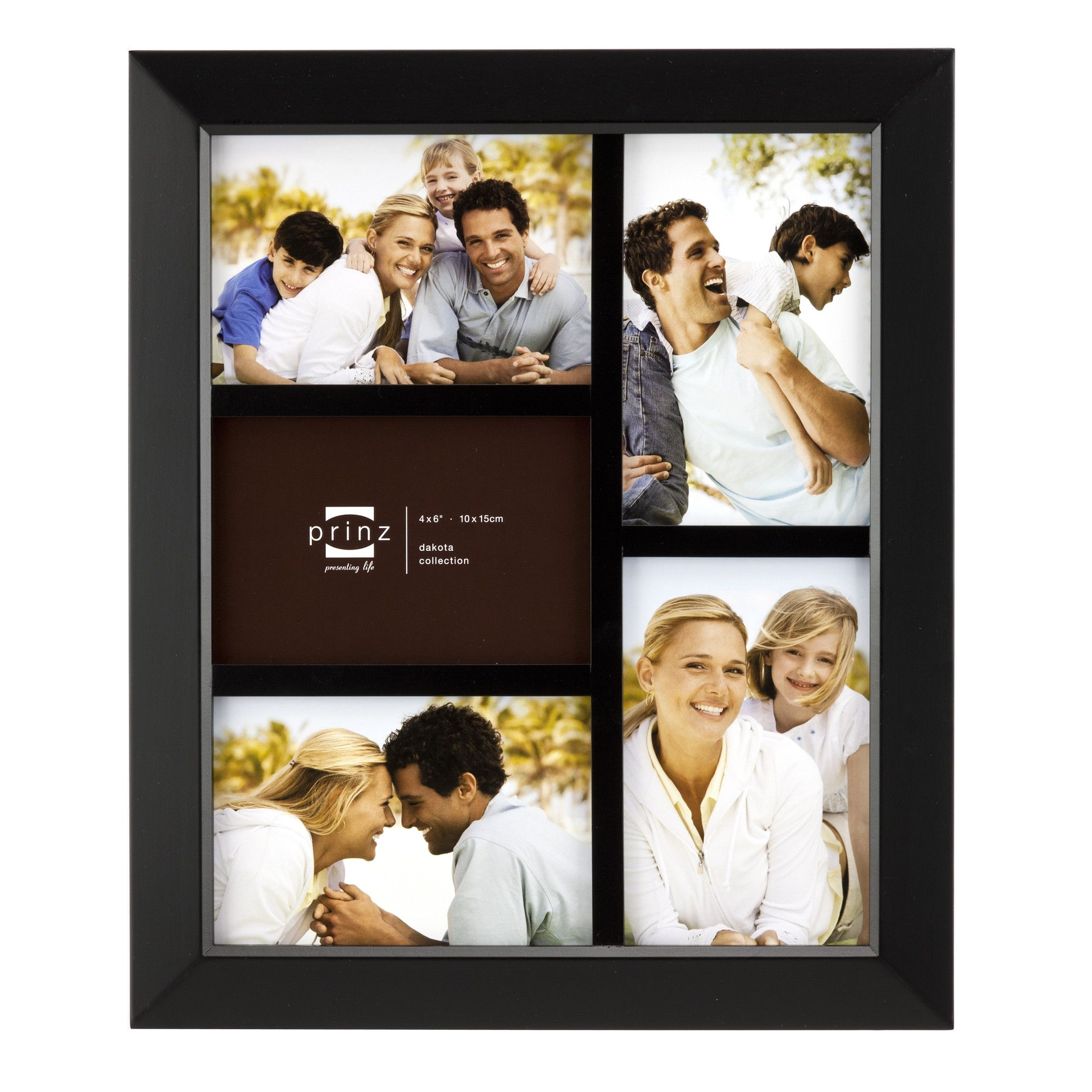 Five Opening Dakota Solid Wood Wall Picture Frame | Products | Pinterest