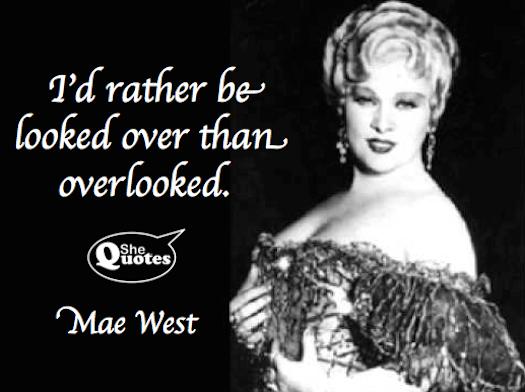 mae west цитаты