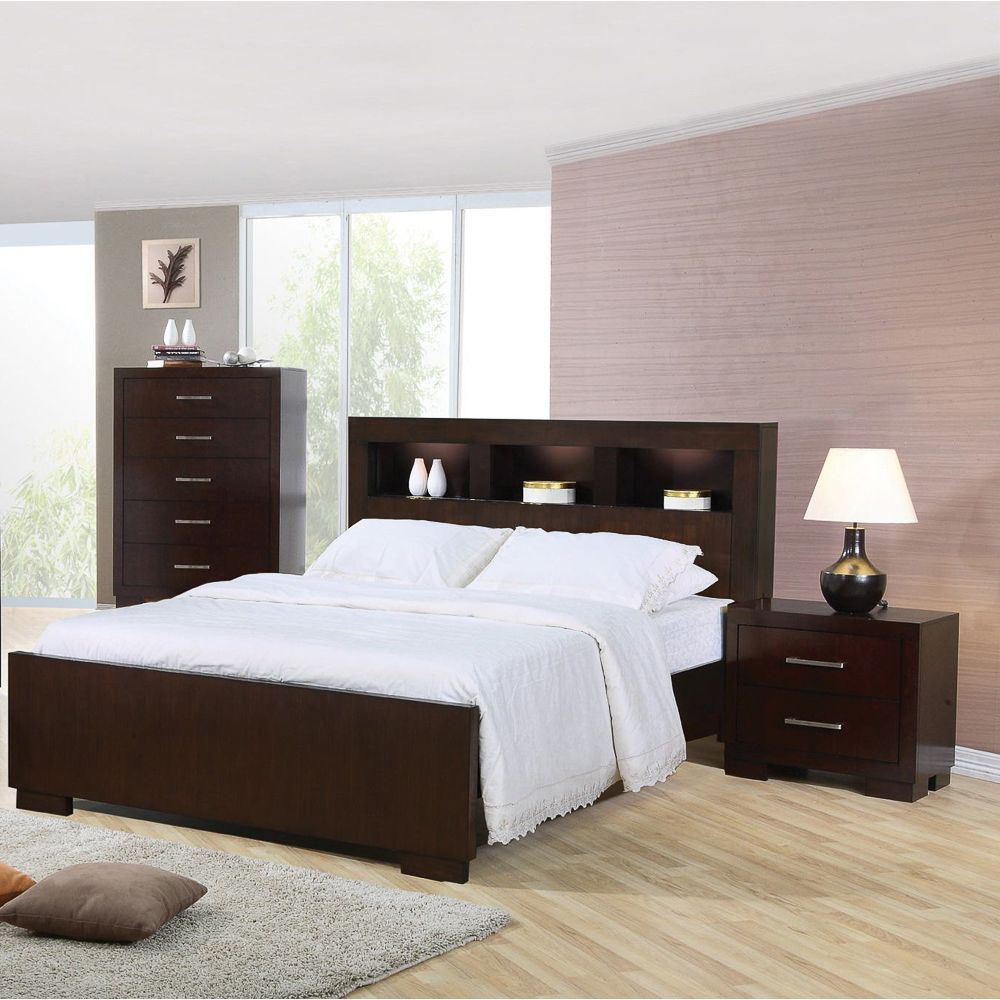 Schlafzimmer Set Cappuccino Highland Cappuccino 3 Piece Bedroom Set The Highland 3 Piece