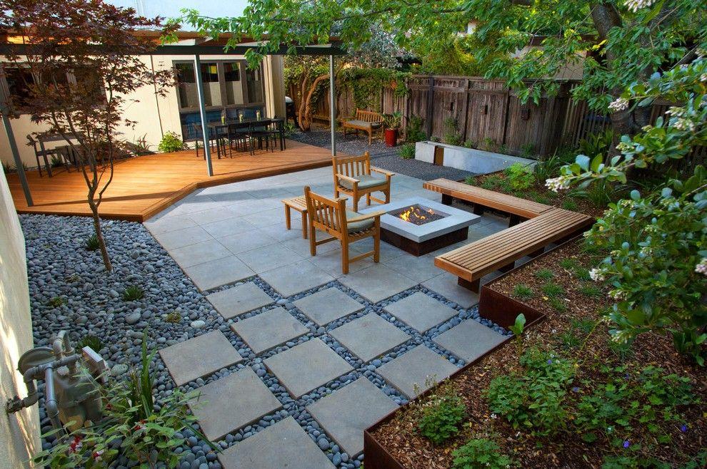 24x24 concrete pavers in exterior