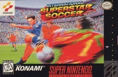 International Superstar Soccer Video Game Soccer Video Games Super Nintendo Soccer