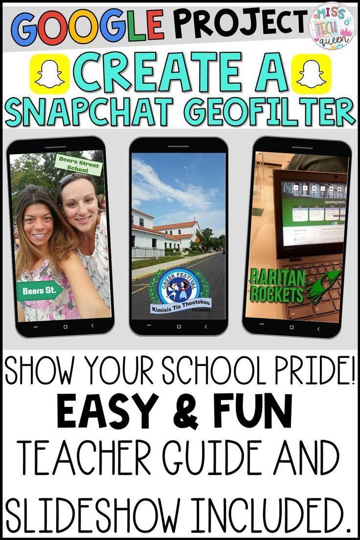 Google Classroom Activities Create a Snapchat Filter