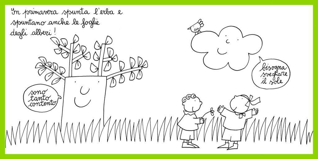 Nuvola Olga In Primavera Nuvole Risorse Didattiche E Filastrocche
