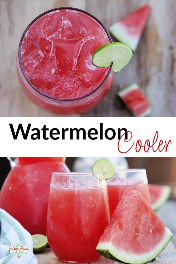 Mexican Watermelon Cooler