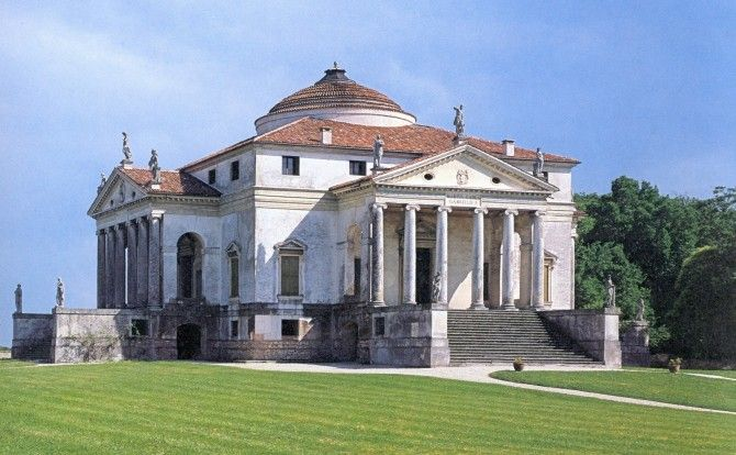 Villa Almerico Capra,La Rotonda1566, Riviera Berica