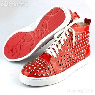 Mens Red Bottom Sneakers Fashionjunkie Style Pinterest