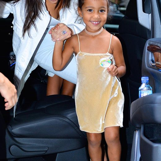 a400be8f2 North West Models Kim and Kanye s New Kids Line