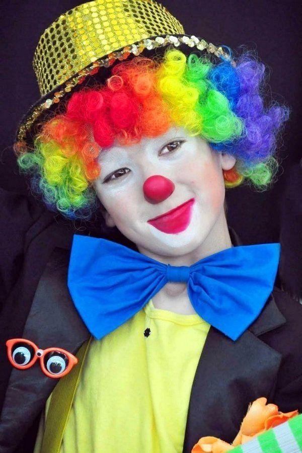 clown-make-up-ideen-fuer-halloween MAKE-UP  PFLEGE Pinterest - clown ideas for halloween