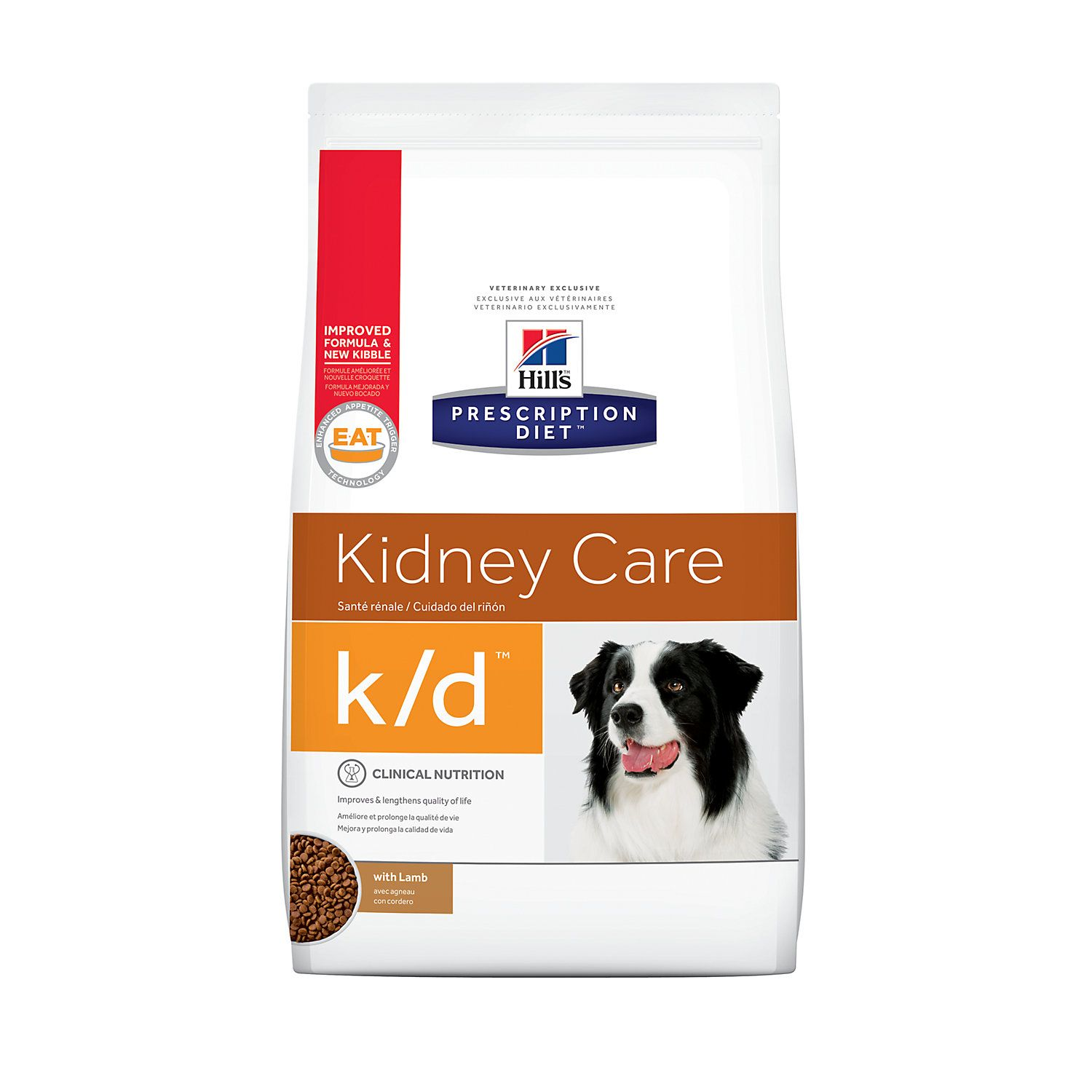 Hill S Prescription Diet K D Kidney Care With Lamb Dry Dog Food