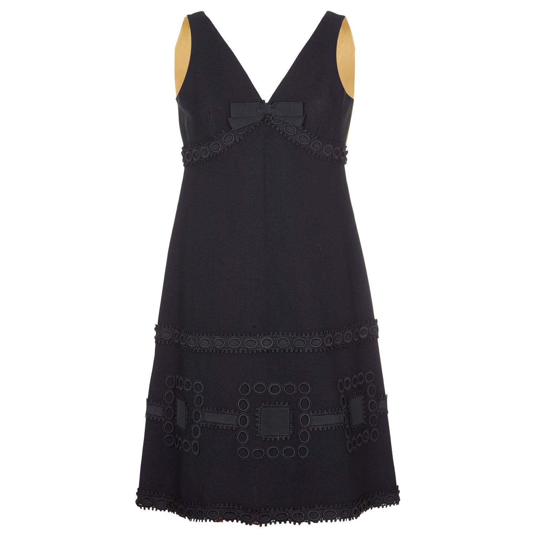 809f1f9460b 1960s French Couture Simone Minman Dress