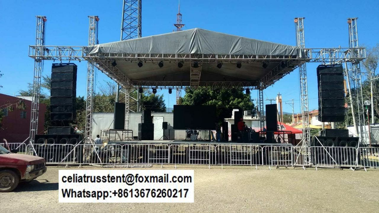 hot sale aluminum truss roof system concert stage roof truss