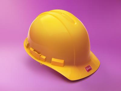 Yellow Helmet Helmet Helmet Design Safety Helmet