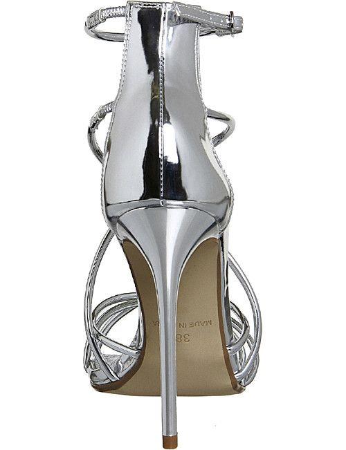 dae2cceedff OFFICE Angel metallic heeled sandals | Lavish Safiya: Shoes ...