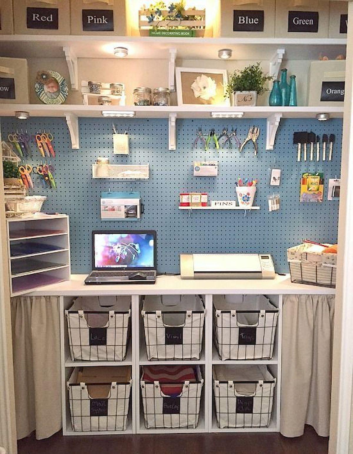 Be Creative With Pegboard Storage Jihanshanum Diy Craft Room Craft Room Storage Craft Room Design