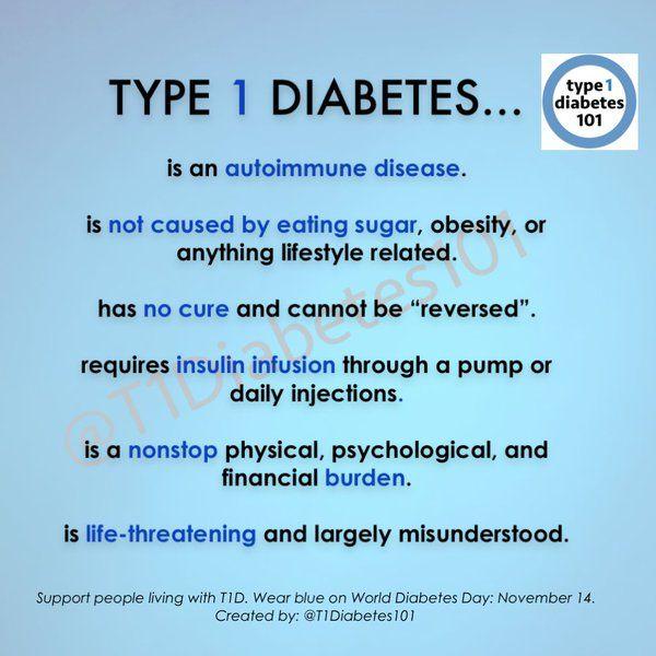 diabetes is not caused by diet