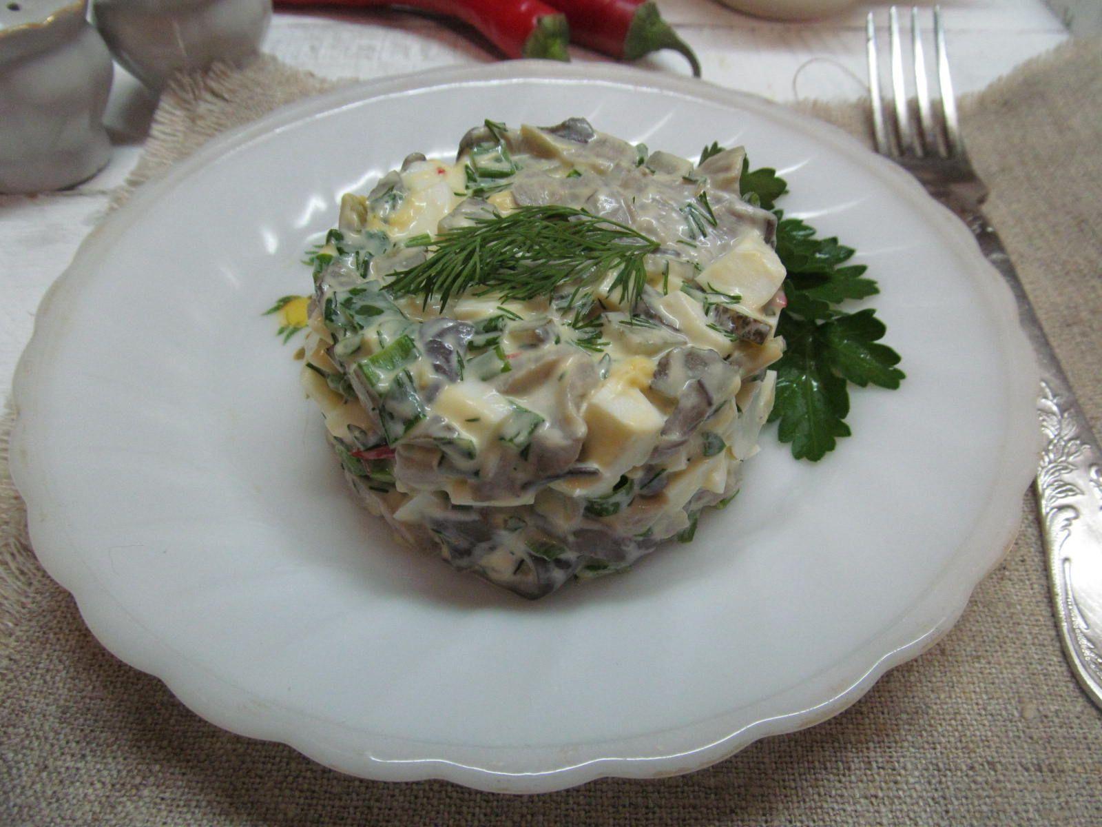 вечер рецепты салатов в картинках с солеными огурцами задорный