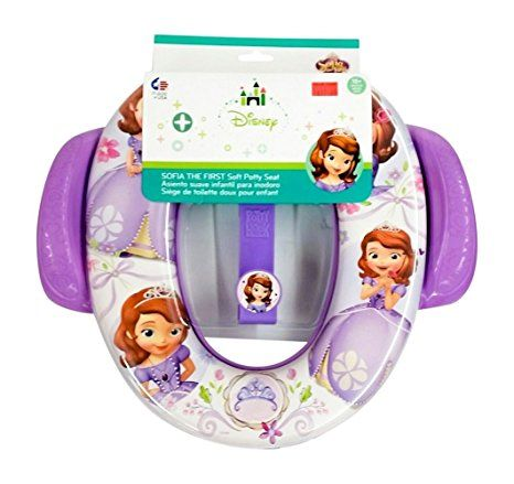 Childs Soft Cushioned Toilet seat (With cartoon characters