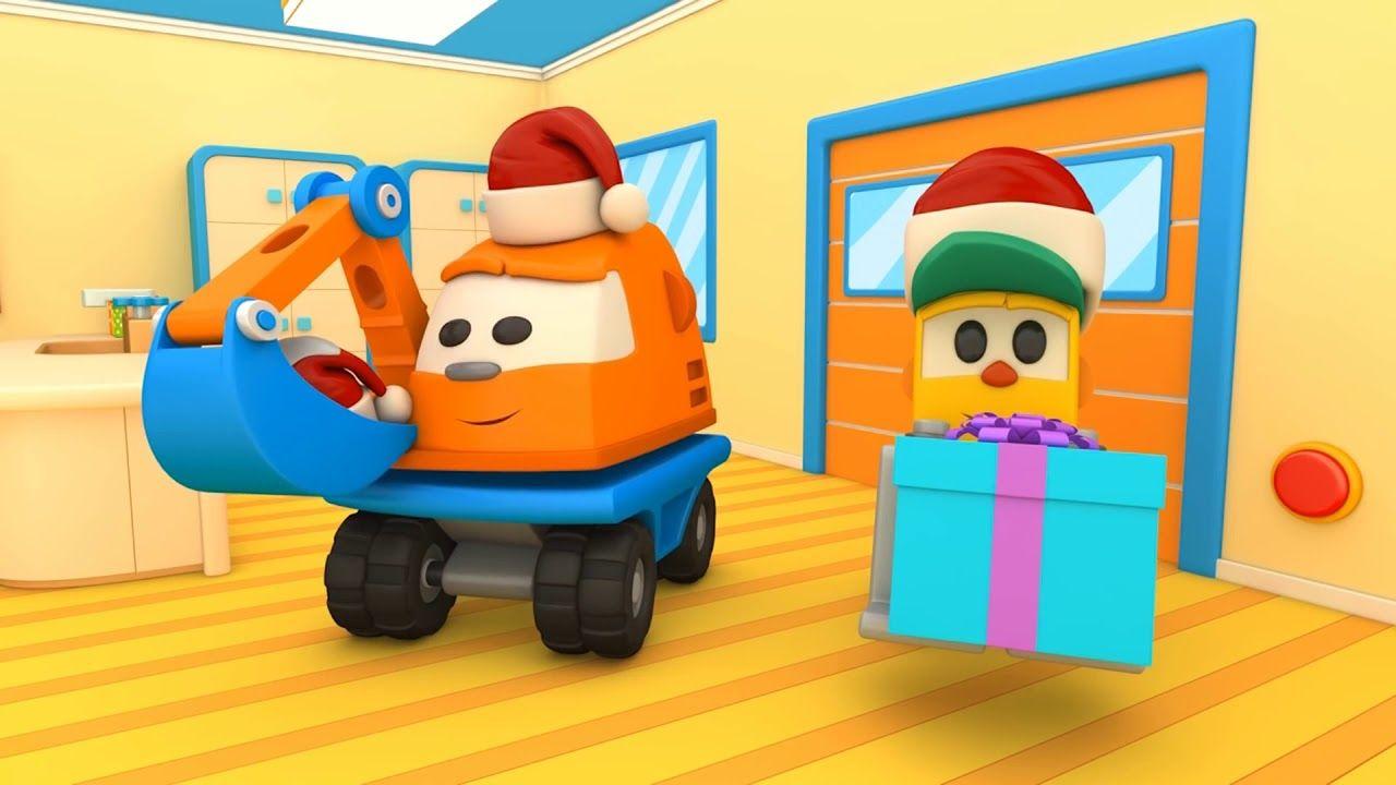 Cartoni animati per bambini leo il camion curioso aspetta il