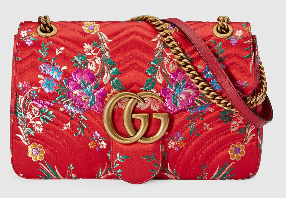 b131aef62682 Gucci's Wild, Wonderful Spring 2017 Bags are Now Available-Check Out Some  of the Best - PurseBlog