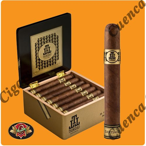 Trinidad Santiago Toro Cigars - Dark Box of 20 - Best Online prices Trinidad Santiago Toro Cigars - Dark Box of 20 at Cuenca Cigars. Shop Trinidad Cigars receive FREE SHIPPING on orders over $199. Latest addition to the acclaimed Trinidad Cigars line. Using a Habano Dominicano as wrapper, binders and fillers this medium to full Toro with size..Price: $167.50