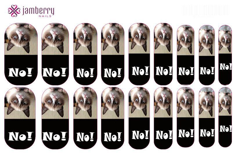 Grumpy cat Nail wraps! Design your own wraps! # ...