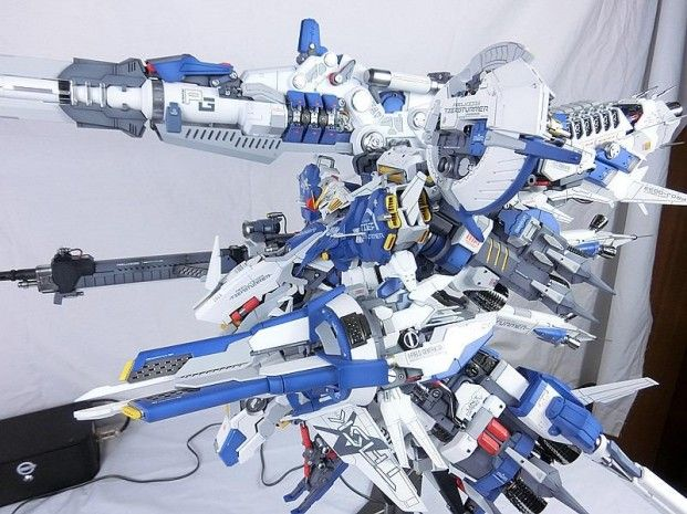 www.pointnet.com.hk - 首辦作品 機甲之城 1/100 Deep Striker Ver Blue