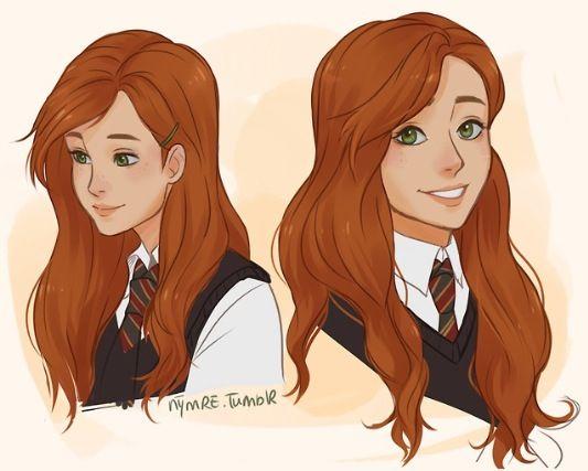 Lily Evans Harry Potter Drawings Harry Potter Anime Harry Potter Artwork