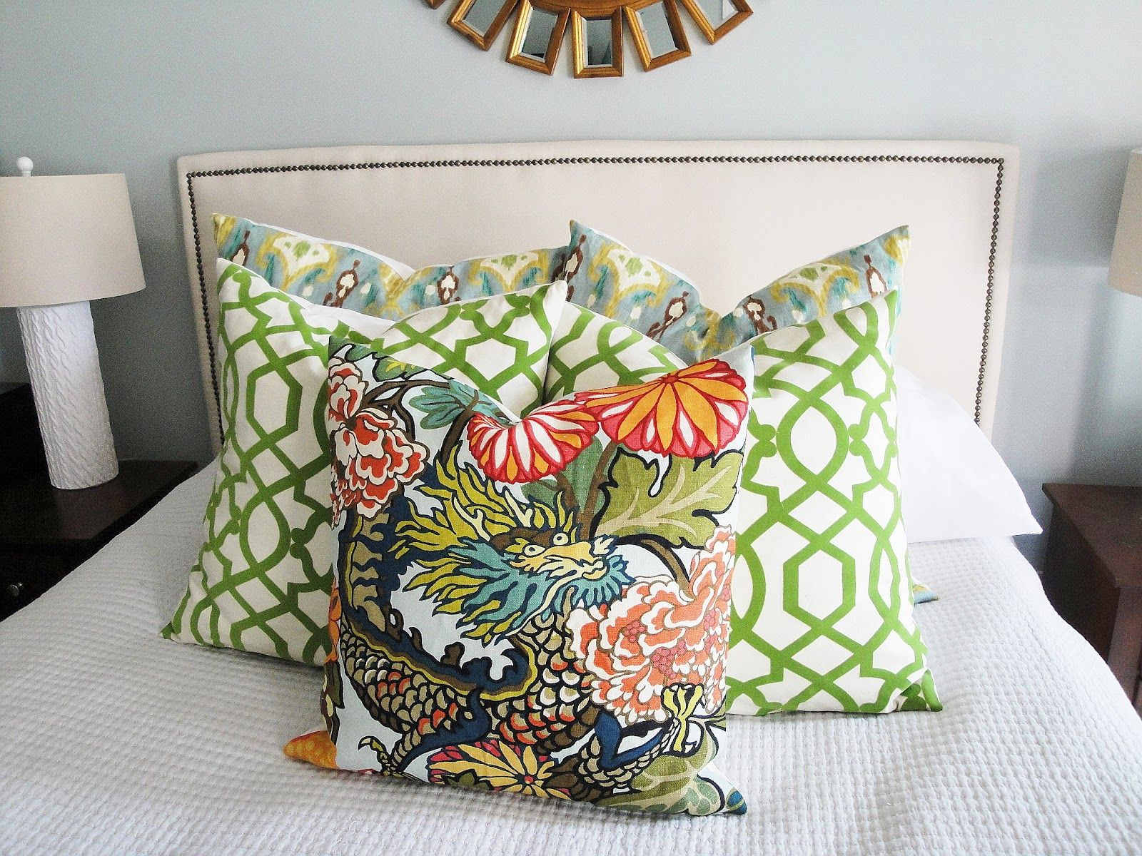 Spring Decor Living Room Throw Pillows
