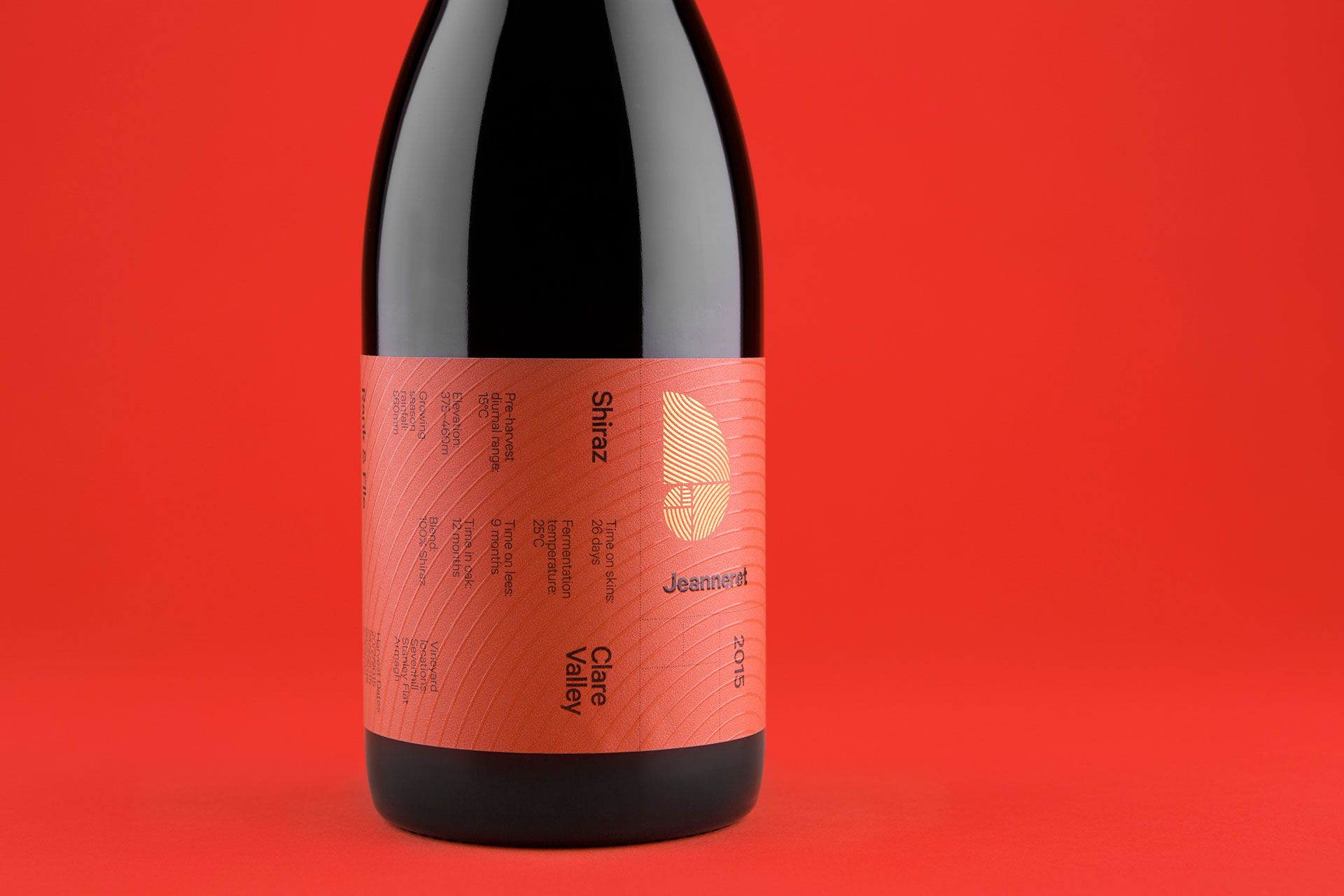 Jeanneret Wines Take Inspiration From The Swiss Movement Wine Label Design Wine Wine Brands