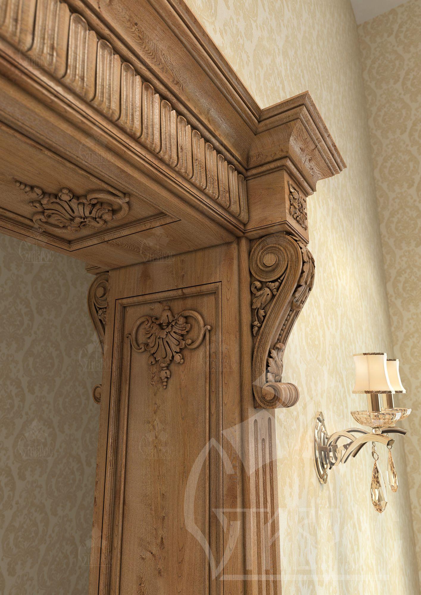 Дверной портал своими руками фото 741