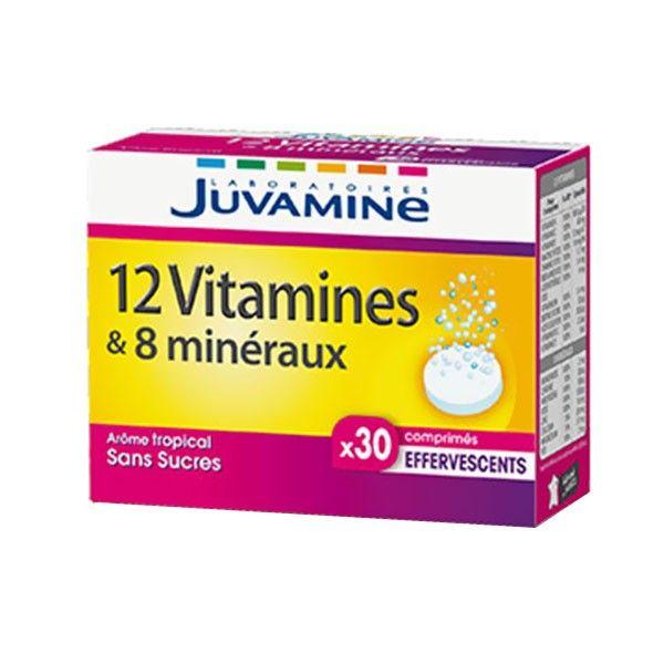 Présentée sous forme de comprimés effervescents JUVAMINE ...