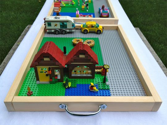 Taming the LEGO Beast: Portable Tray