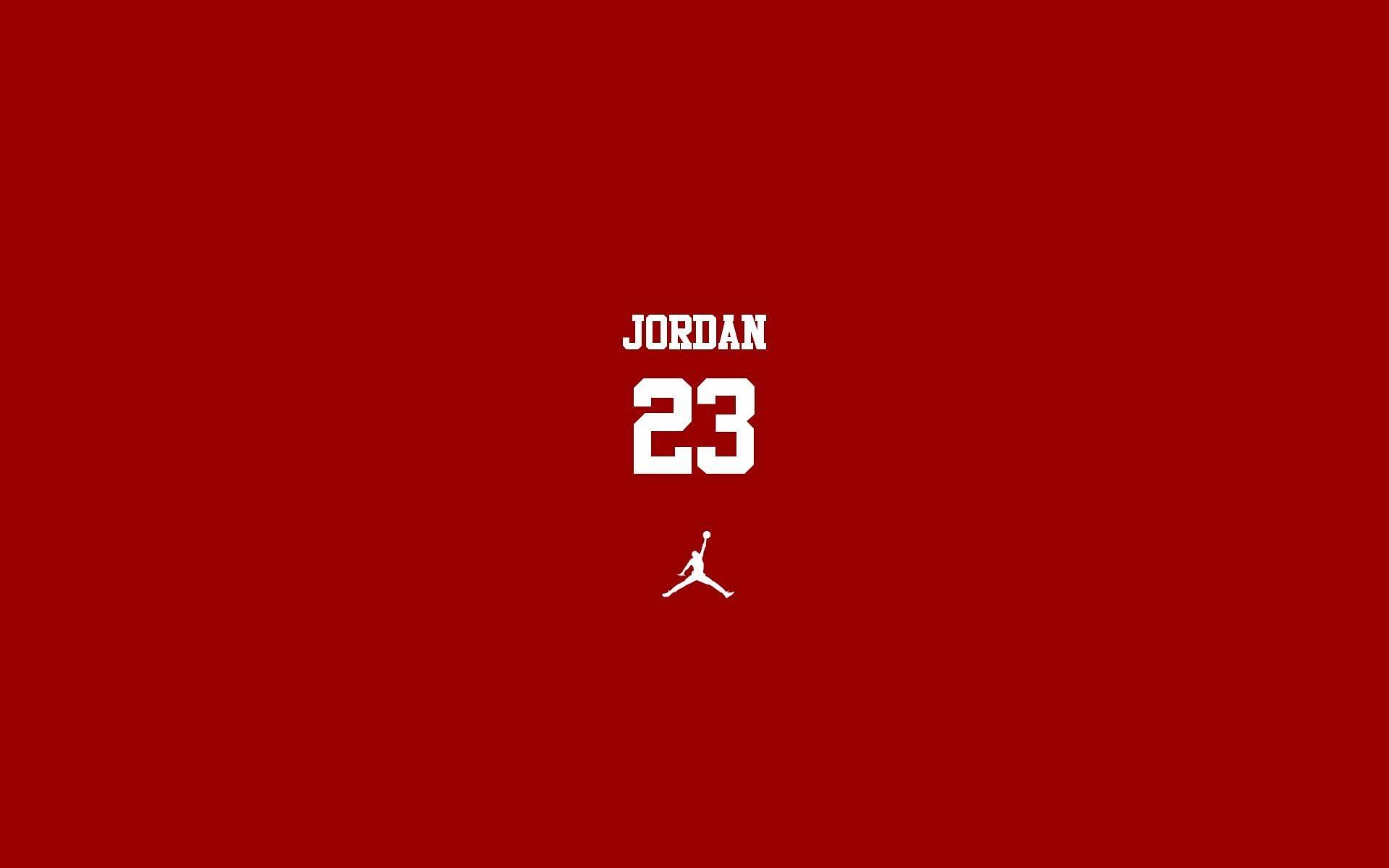 Jordan 23 Wallpaper Michael Jordan Minimalism Numbers Sport Basketball Red Background Simple Backgro In 2020 Jordan Logo Wallpaper Michael Jordan Logo Wallpaper Hd