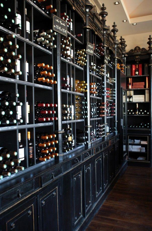 La cave de Bernard Magrez. Classy looking wine bar type deal!   Wine ...