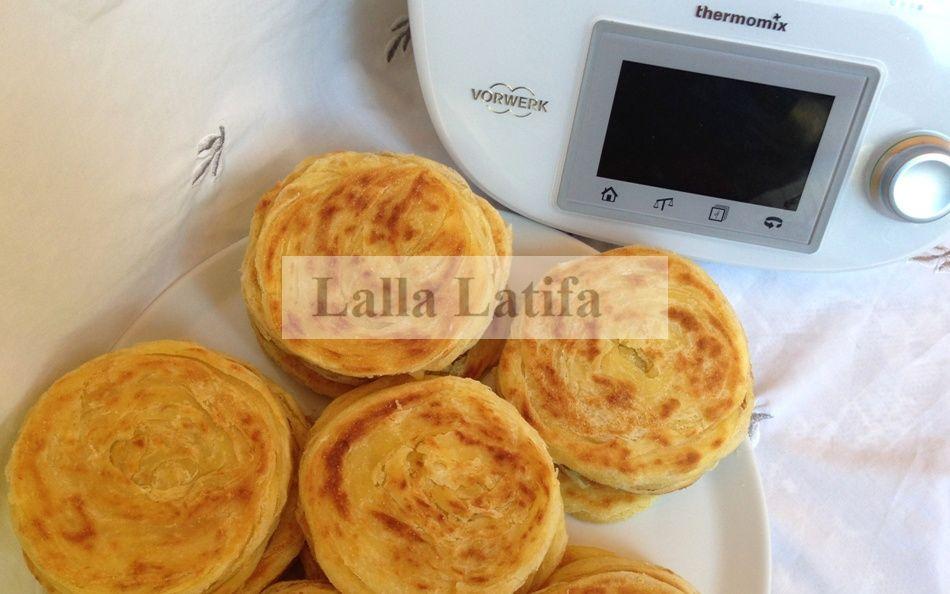 Les secrets de cuisine par Lalla Latifa , Malwis marocains au Thermomix TM5