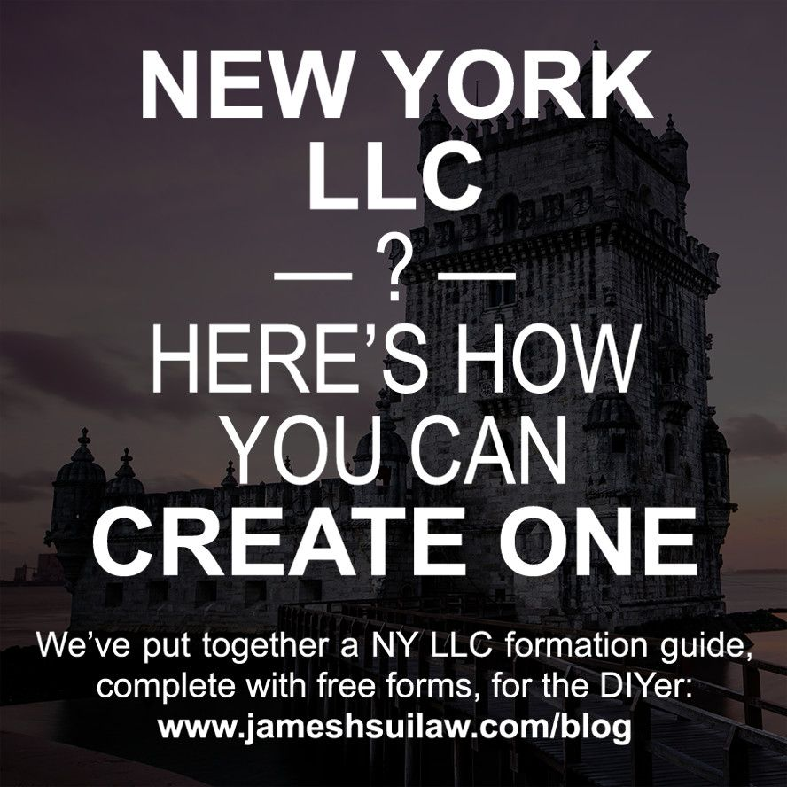 Want to form a new york llc for your business weve put