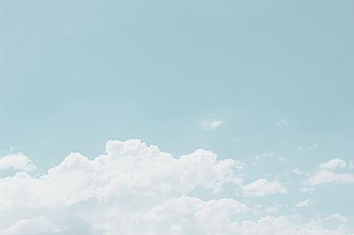 Plume Of An Angel Blue Sky Wallpaper Sky Aesthetic Baby Blue Aesthetic
